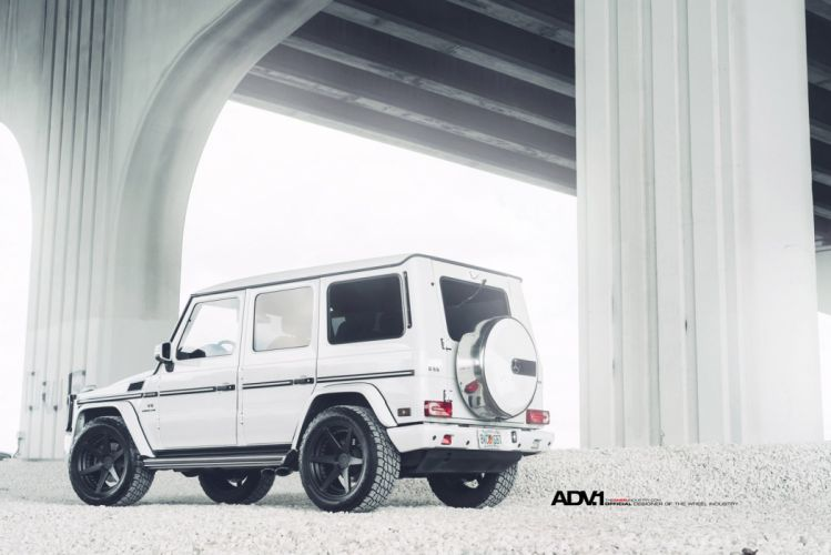 2014 ADV1 wheels MERCEDES G55 AMG cars tuning cars wallpaper
