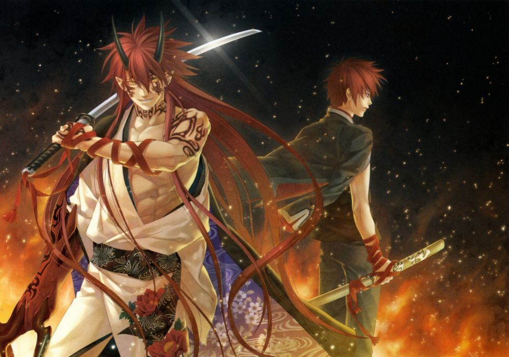 Anime Hakkenden Legend of the Dog eight East wallpaper