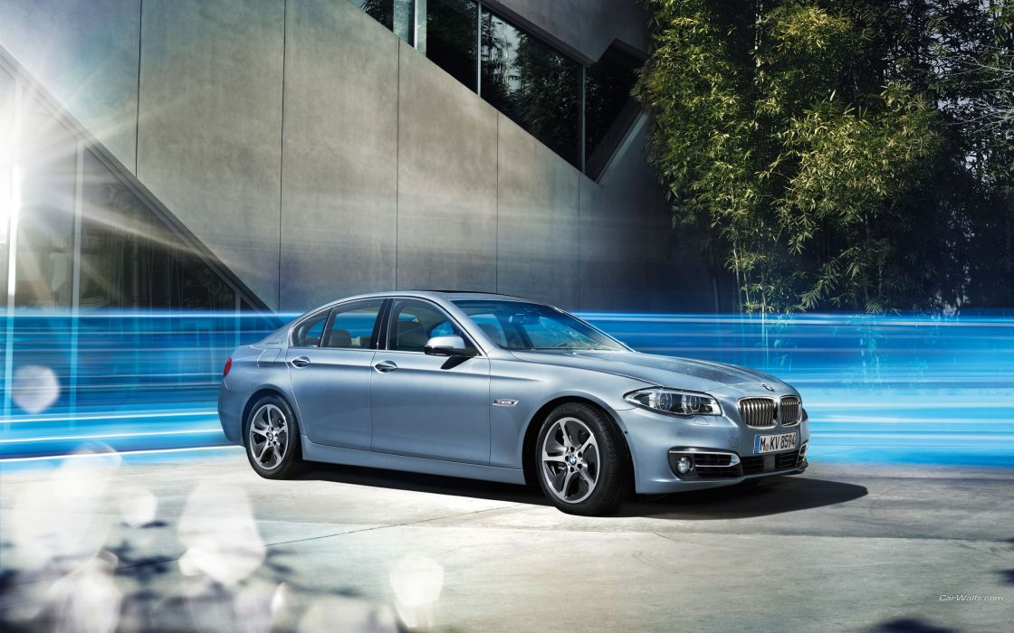 BMW 5 ActiveHybrid 2014 wallpaper