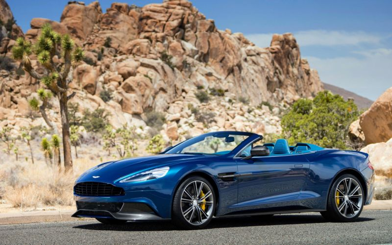 Aston Martin Vanquish Volante 2014 wallpaper