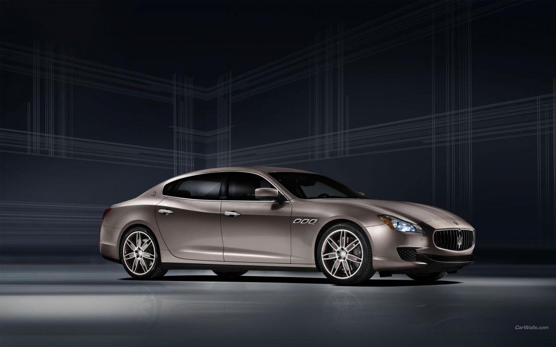 Maserati Quattroporte Ermengildo Zegna Limited Edition 2013 wallpaper