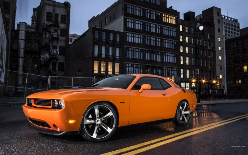 Dodge Challenger RT Shaker 2014 wallpaper