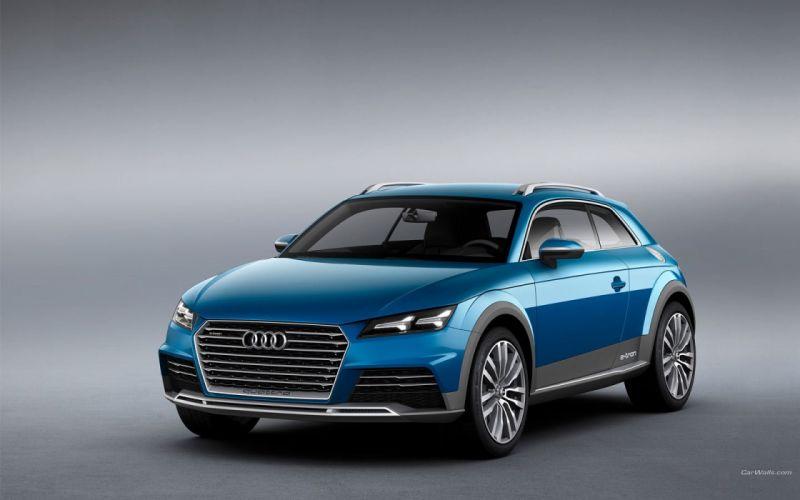 Audi Allroad Shooting Brake Concept 2014 wallpaper