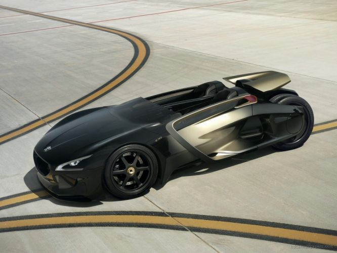 Peugeot EX1 Concept Car 2010 wallpaper