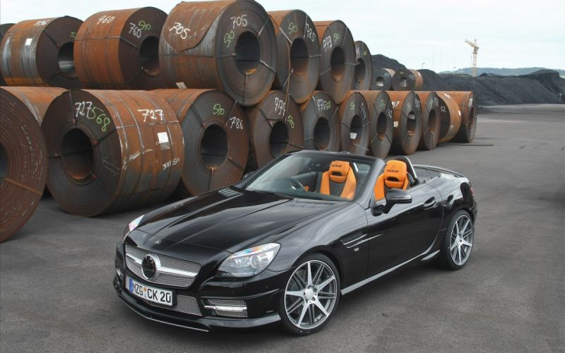 Mercedes-Benz SLK 2011 wallpaper