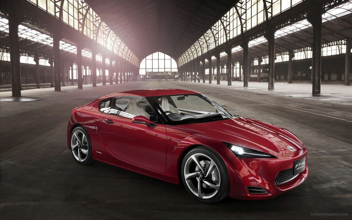 Toyota FT 86 Sports Concept 2011 wallpaper