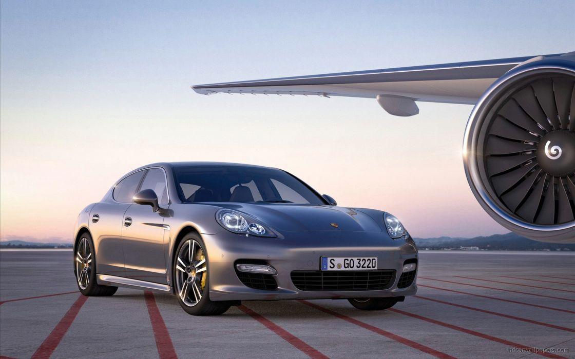 Porsche Panamera Turbo S 2011 wallpaper