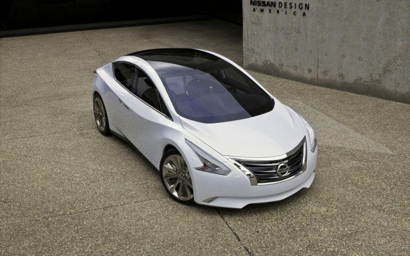 Nissan Ellure Concept 2010 wallpaper