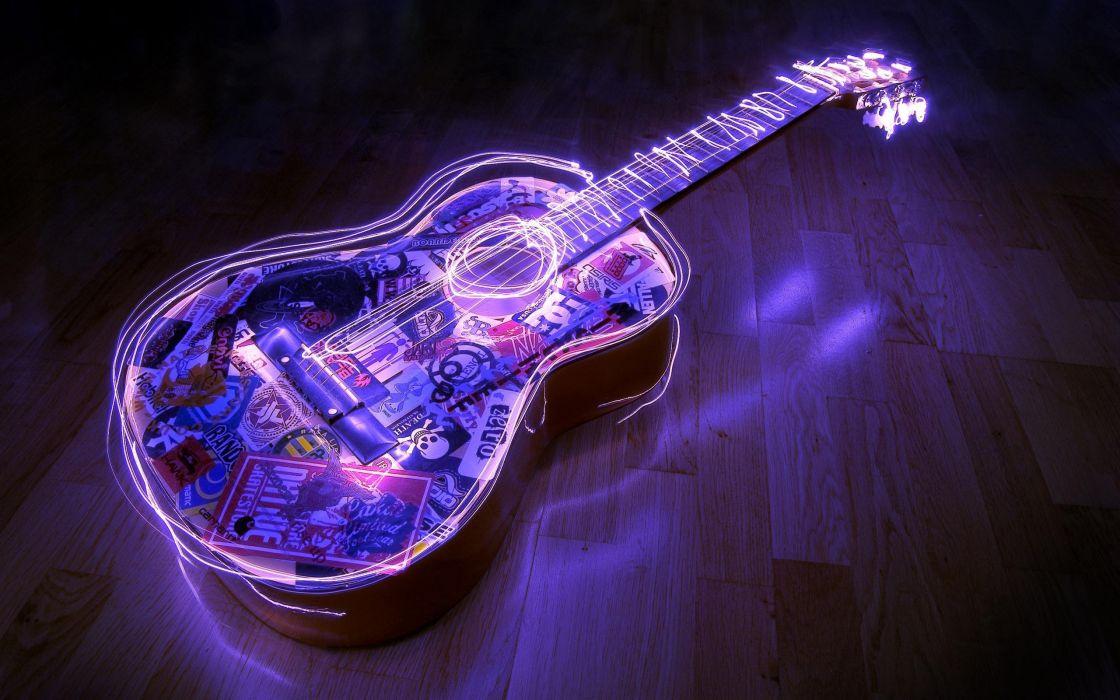 Guitar Acoustic wallpaper
