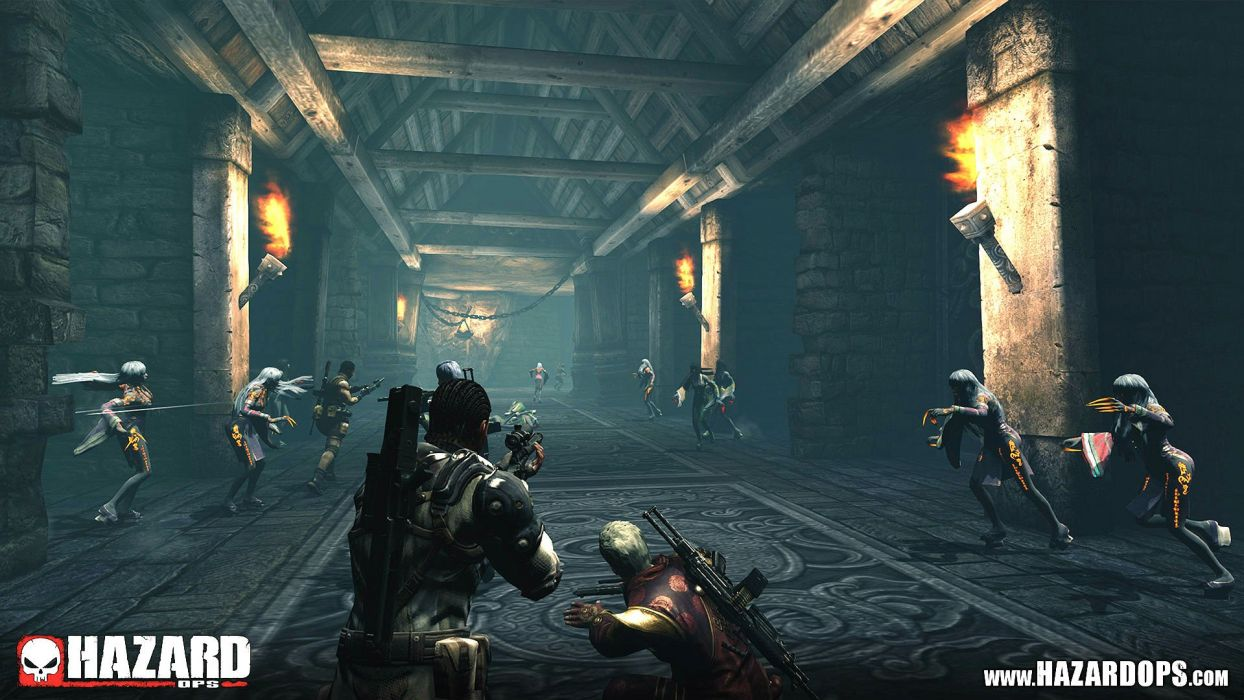 HAZARD OPS tps action shooter war fighting survival dark zombie 1hazardops warrior sci-fi wallpaper