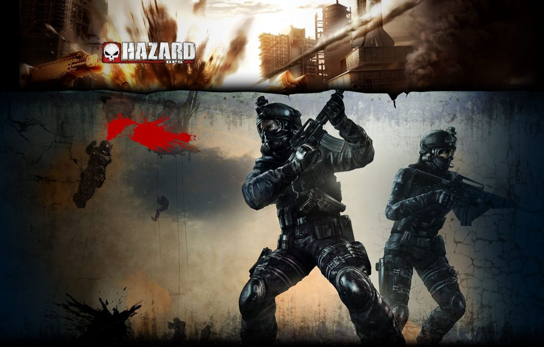 HAZARD OPS tps action shooter war fighting survival dark zombie 1hazardops warrior sci-fi wallpaper