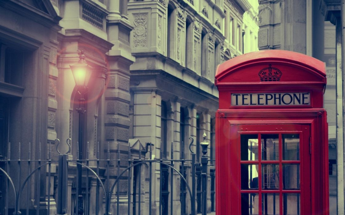 London Phone Booth wallpaper