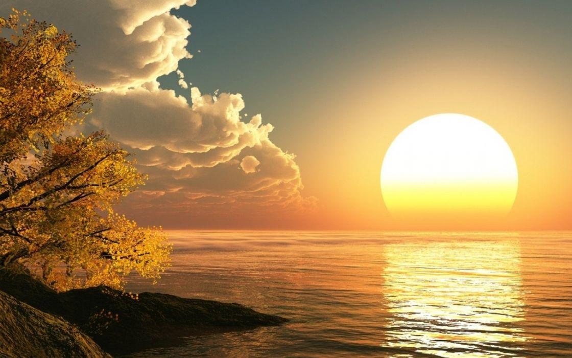 Sun Rising Wallpaper wallpaper