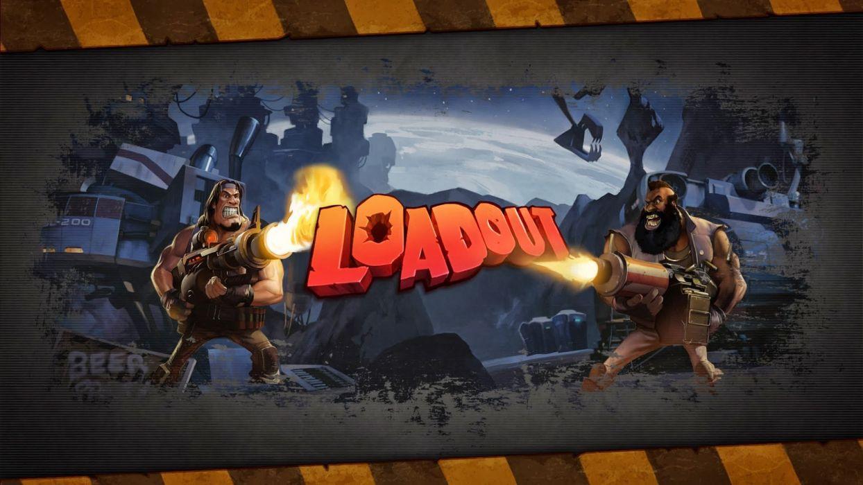 LOADOUT fighting action tps shooter warrior weapon gun wallpaper