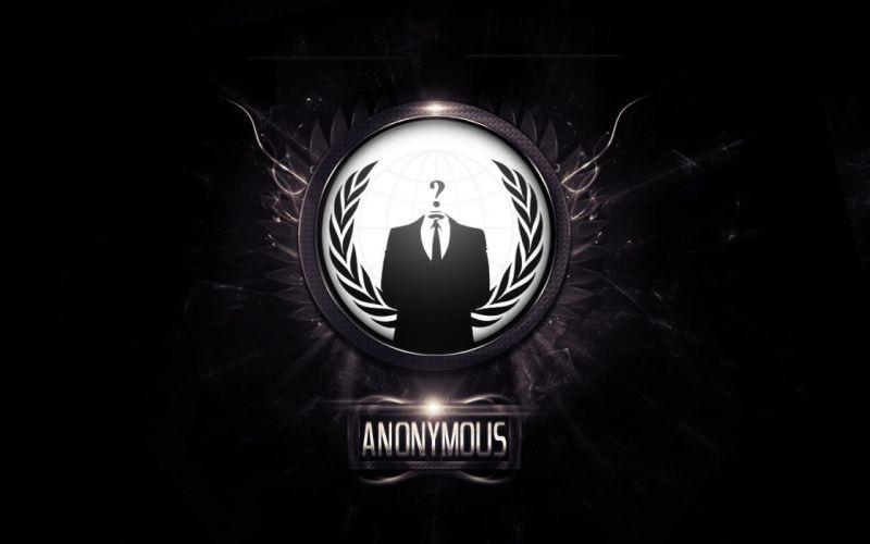 Anonymous Logo Wallpaper Dekstop wallpaper