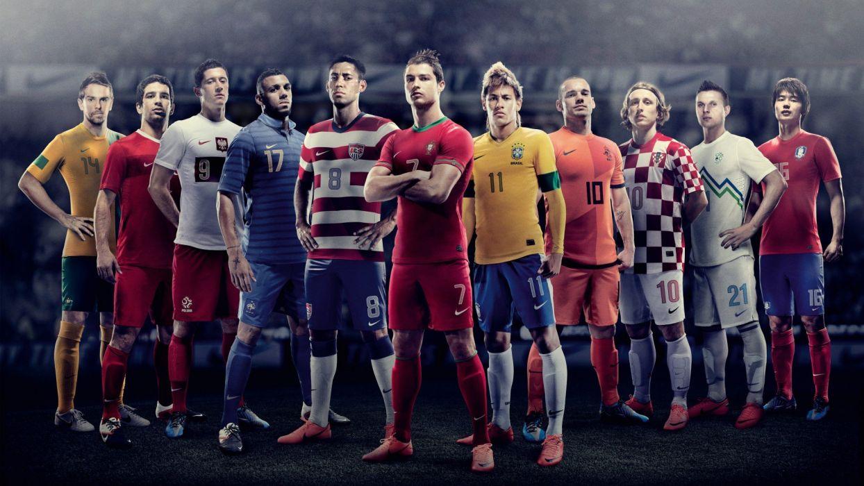 Nike Euro 2012 Kits wallpaper