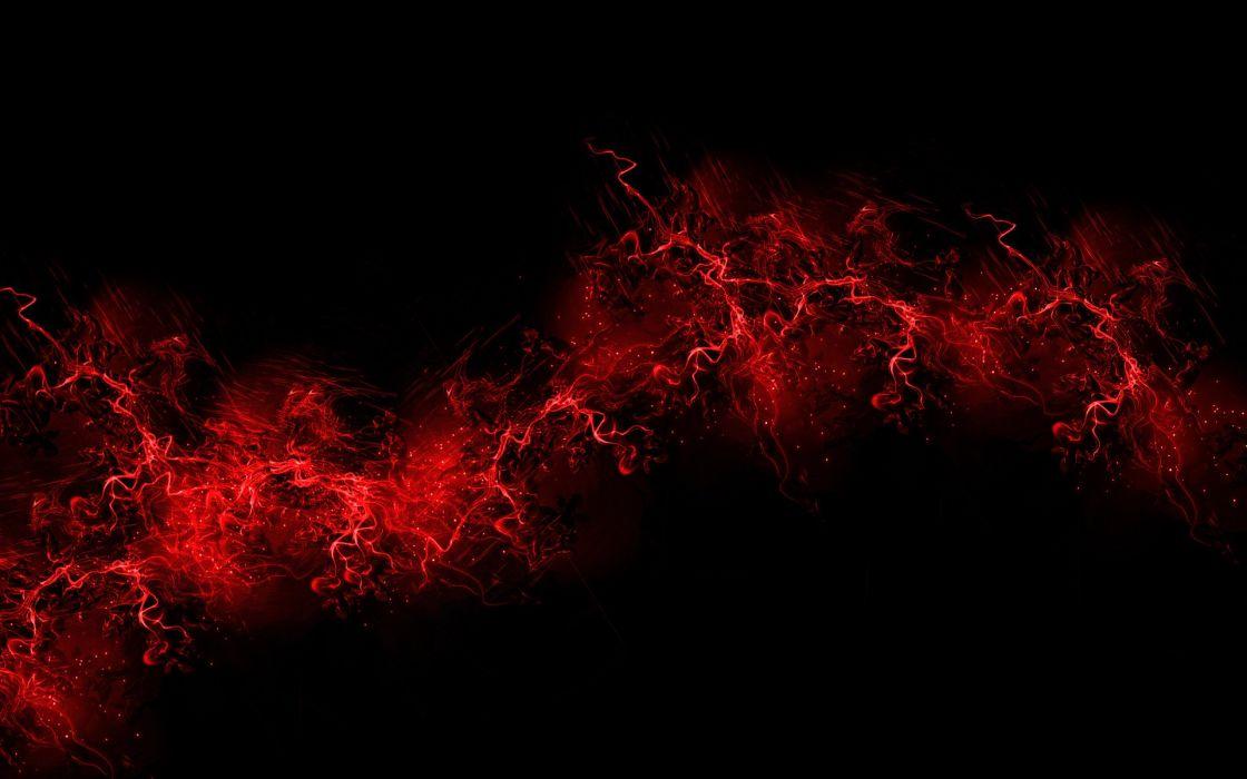 Red Black Background wallpaper