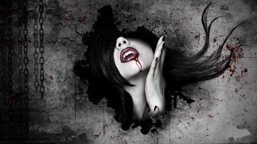 Vampire Art wallpaper