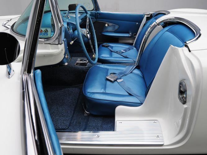 1961 Chevrolet Corvette C-1 muscle classic supercar wallpaper