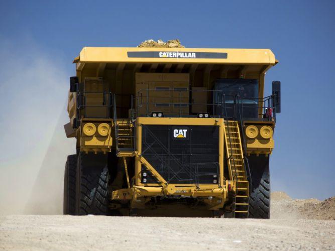 2014 Caterpillar MT4400D A-C quarry 4x4 dump dumptruck construction wallpaper