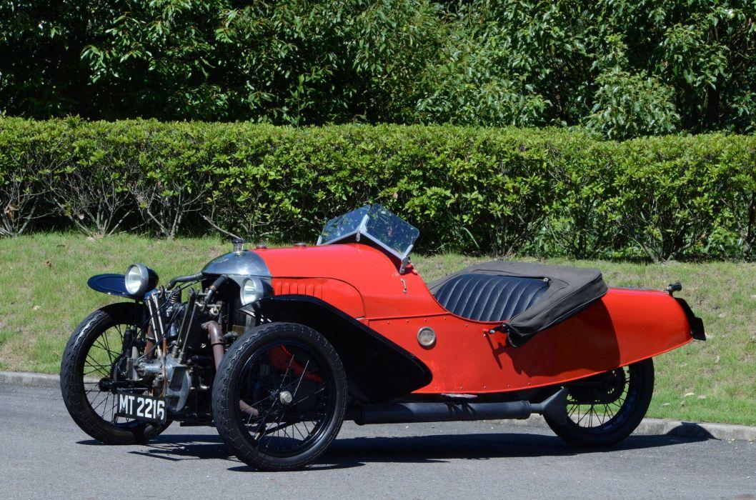 1928 Morgan Aero Super Sports retro convertible wallpaper