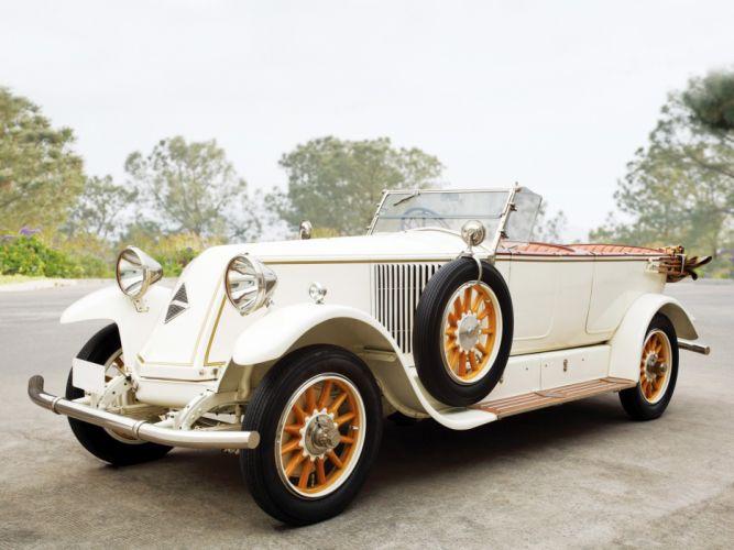 1925 Renault 40CV Tourer retro luxury wallpaper