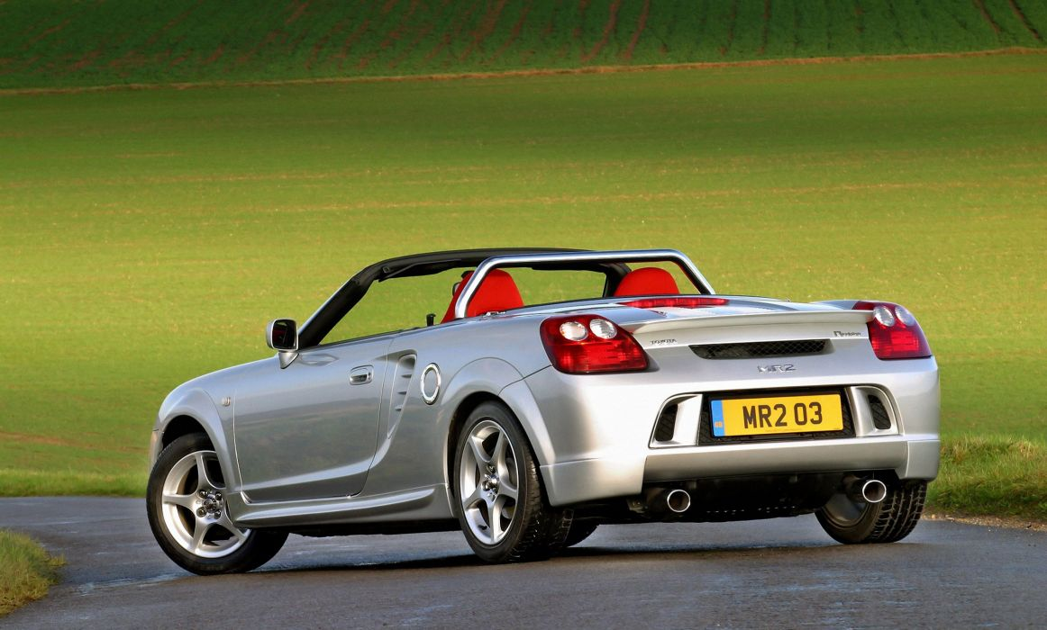 2002-07 Toyota MR2 Roadster Sport UK-spec wallpaper