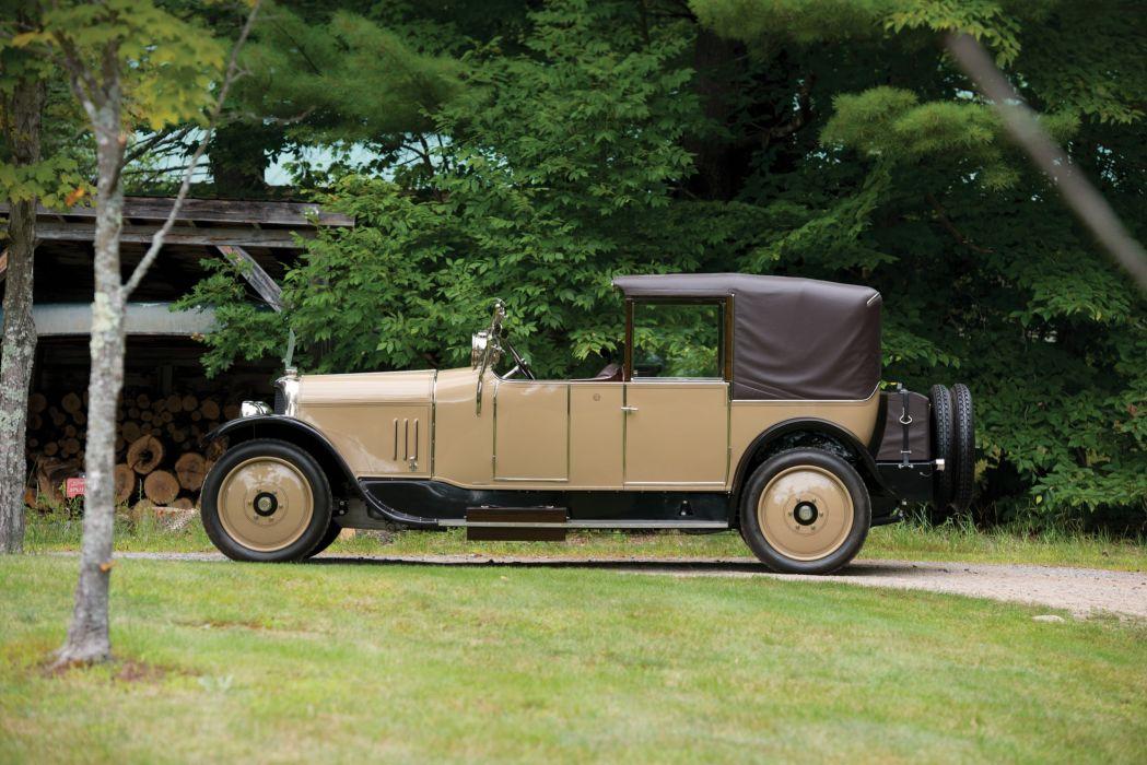 1925 Voisin C-3 Cabriolet Transformable Rothschild luxury retro limo limousine wallpaper
