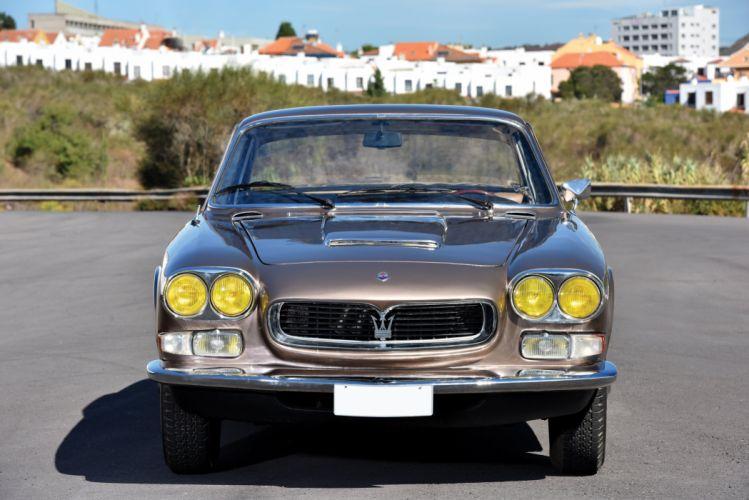 1965-69 Maserati 3700 GTi Sebring AM101 Vignale classic wallpaper