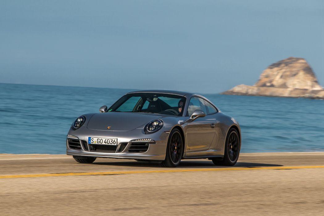 2015 Porsche 911 Carrera GTS Coupe 991 supercar wallpaper