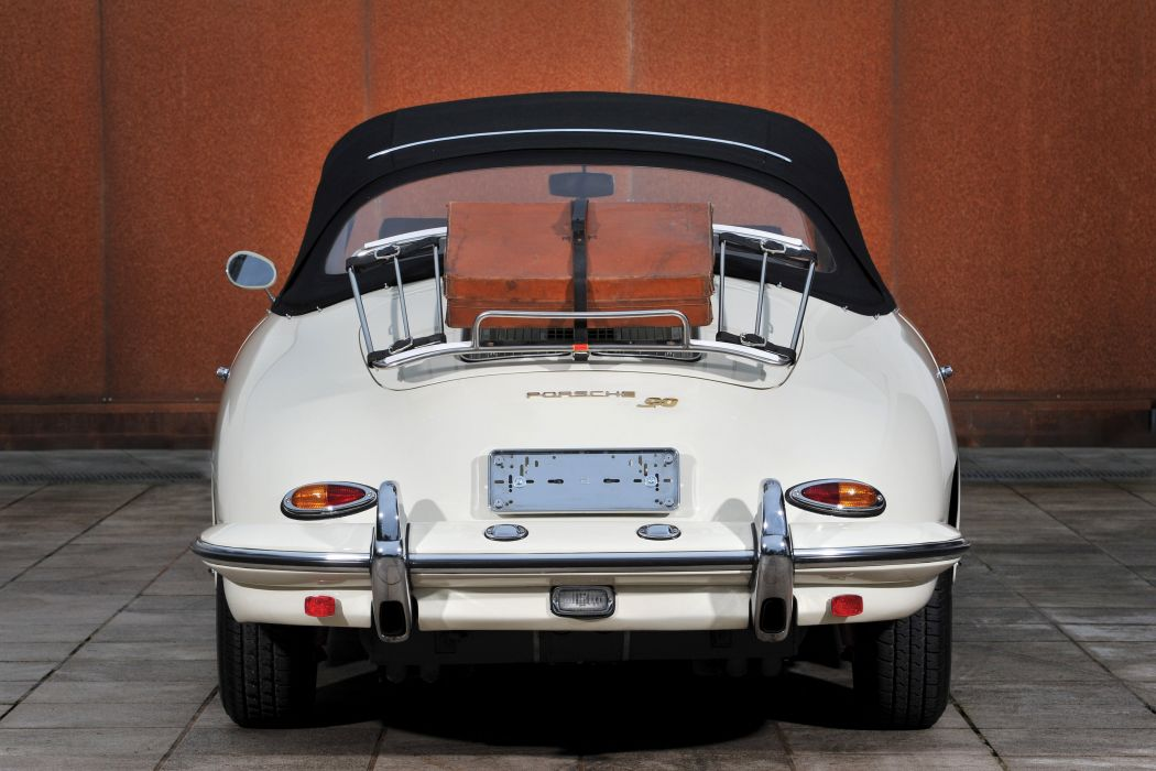 1963 Porsche 356B 1600 Super-90 Cabriolet Reutter T-6 classic 356 wallpaper