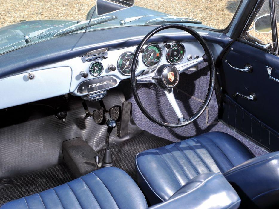 1961 Porsche 356B 1600 Super-90 Cabriolet Reutter UK-spec T-6 classic 356 wallpaper