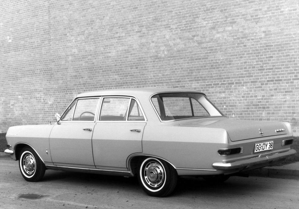 1964 Opel Rekord Sedan classic wallpaper