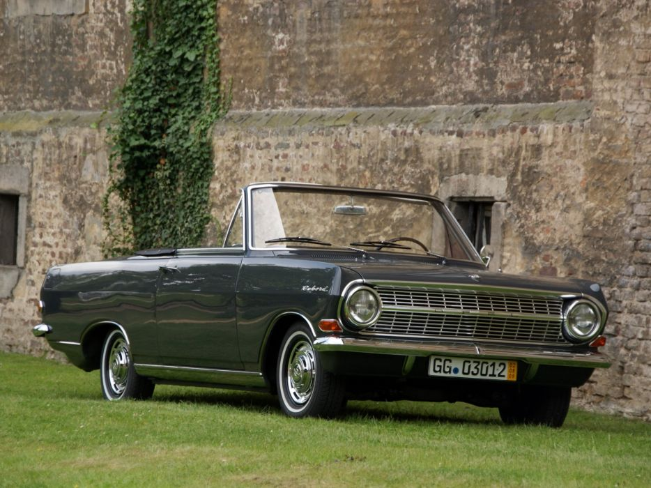 1965 Opel Rekord Cabriolet deutsch classic convertible wallpaper