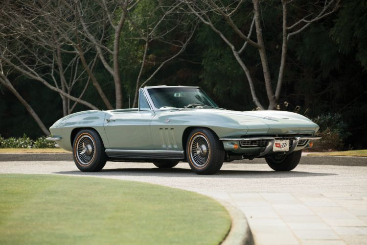 1966 Chevrolet Corvette Sting Ray 327 Convertible (C-2) muscle classic supercar stingray wallpaper