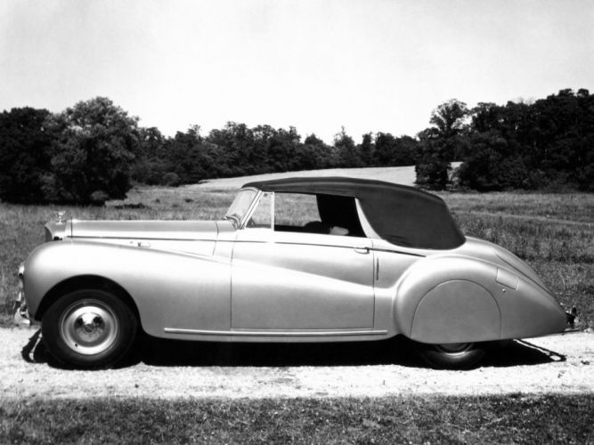 1949 Bentley Mark-VI Drophead Coupe Abbott luxury retro mark wallpaper