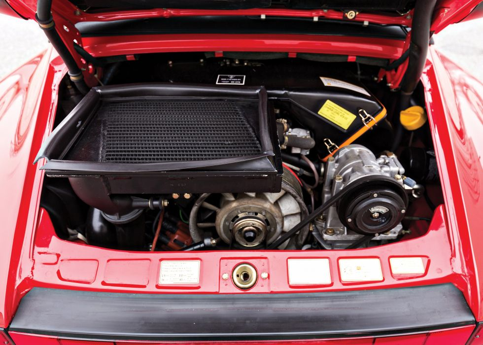 1987 Porsche 911 Turbo Flachbau Cabriolet US-spec 930 superca wallpaper