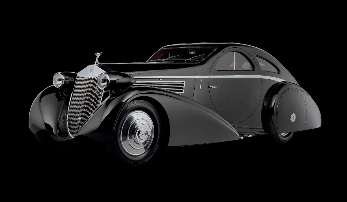 1934 Rolls Royce Phantom I Jonckheere Coupe luxury retro wallpaper