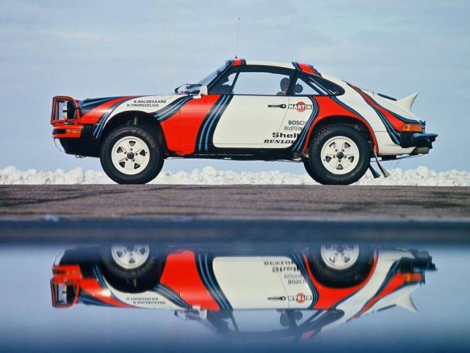 1978 Porsche 911 Safari Rally race racing wallpaper