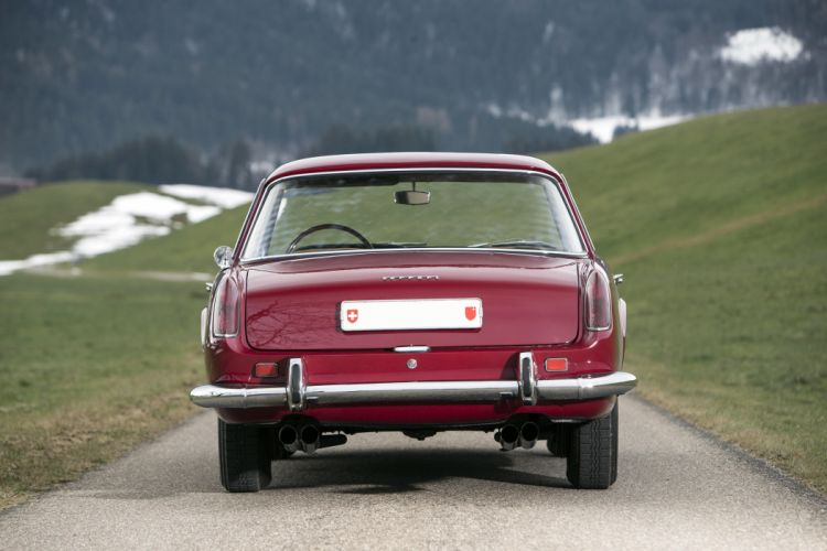 1958 Ferrari 250 G-T Coupe 0947GT retro supercar wallpaper