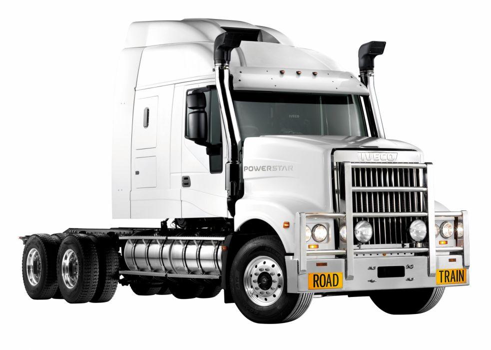 2012 Iveco Powerstar 7800 Roadtrain semi tractor transport wallpaper