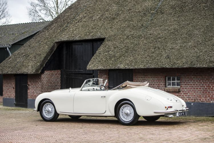 1953 Talbot Lago T26 Record Cabriolet Graber convertible retro luxury wallpaper