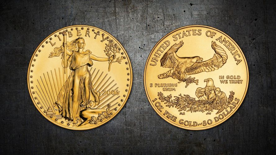 United States Gold Coin wallpaper