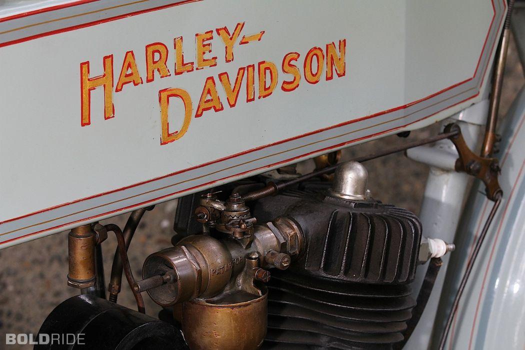 1911 Harley Davidson 7-A Single Cylinder bike motorbike retro wallpaper