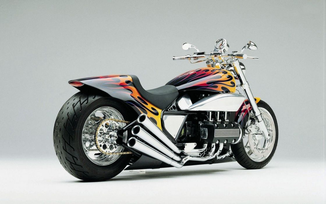CHOPPER custom bike motorbike tuning hot rod rod wallpaper