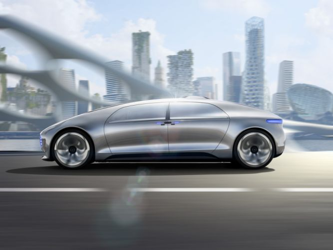 2015 Mercedes Benz F015 Luxury Motion electric electronic technics wallpaper