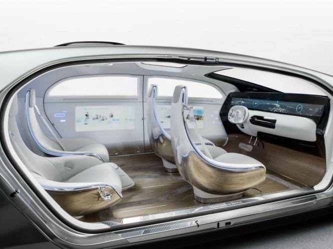2015 Mercedes Benz F015 Luxury Motion electric electronic technics wallpaper