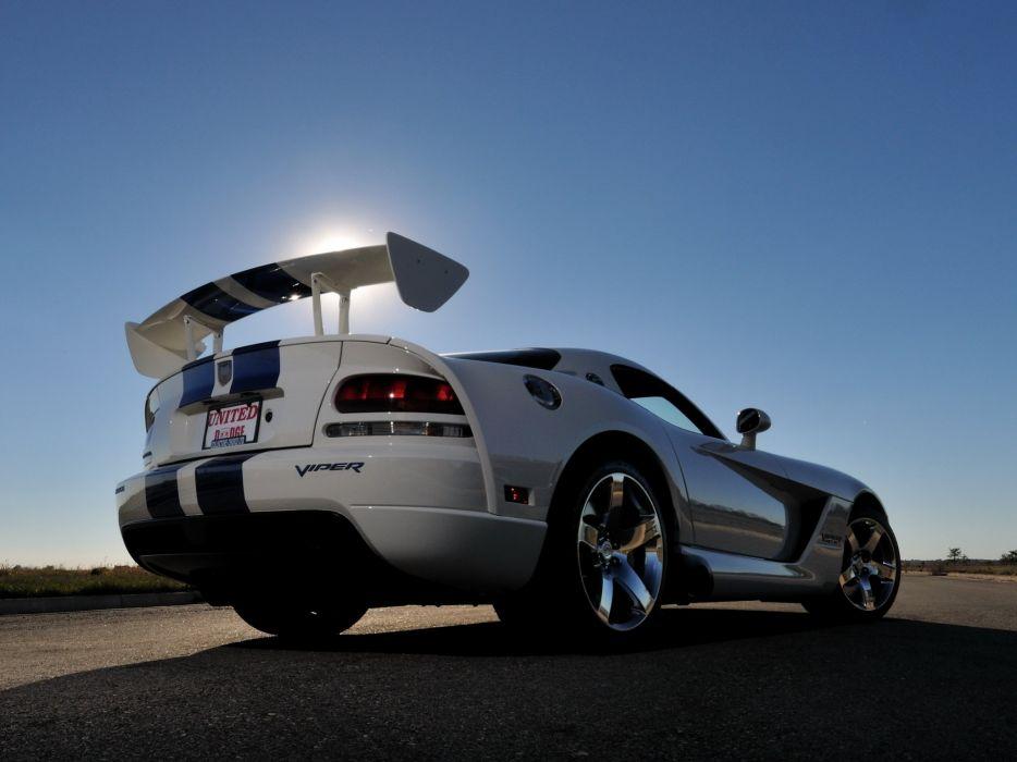 2006 Dodge Viper SRT10 S VOI9 Coupe muscle supercar wallpaper