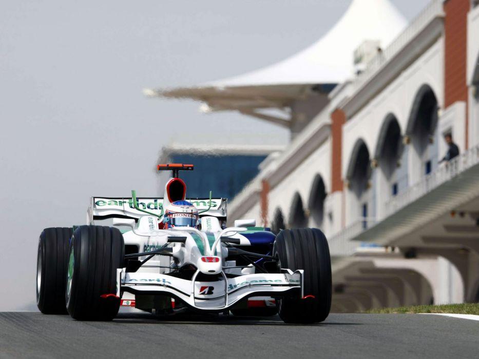 2008 Honda RA108 F-1 formula race racing wallpaper
