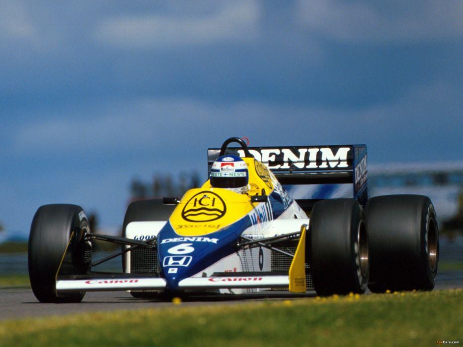 1985 Williams FW10 F-1 formula race racing wallpaper